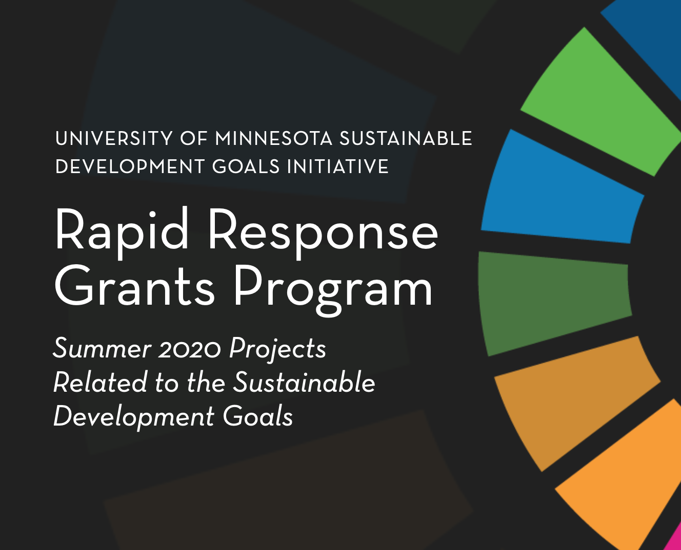 logo for grants program