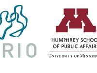 Logos of the Peace Research Institute of Oslo and the Humphrey School of Public Affairs