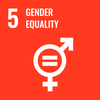 Text: 5 Gender Equality, Icon: Gender Equality Symbol