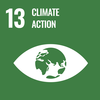 Text: 12 Climate Action, Icon: Eye symbol