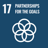 Text: 17 Partnerships for the Goals, Icon: Interlocking Circles